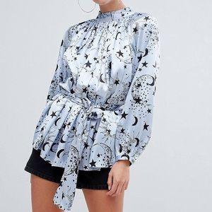 Asos celestial blouse